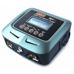 Duo D200 AC/DC charger (max 200W total) with Soldering Iron