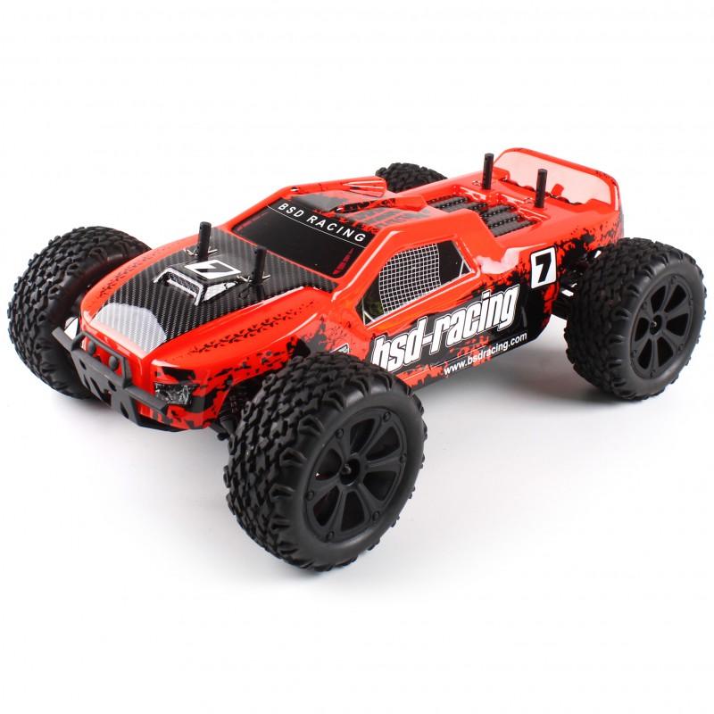 Dune Racer Xt Truck 4x4 1 10 Rtr Kit Orange Beez2b