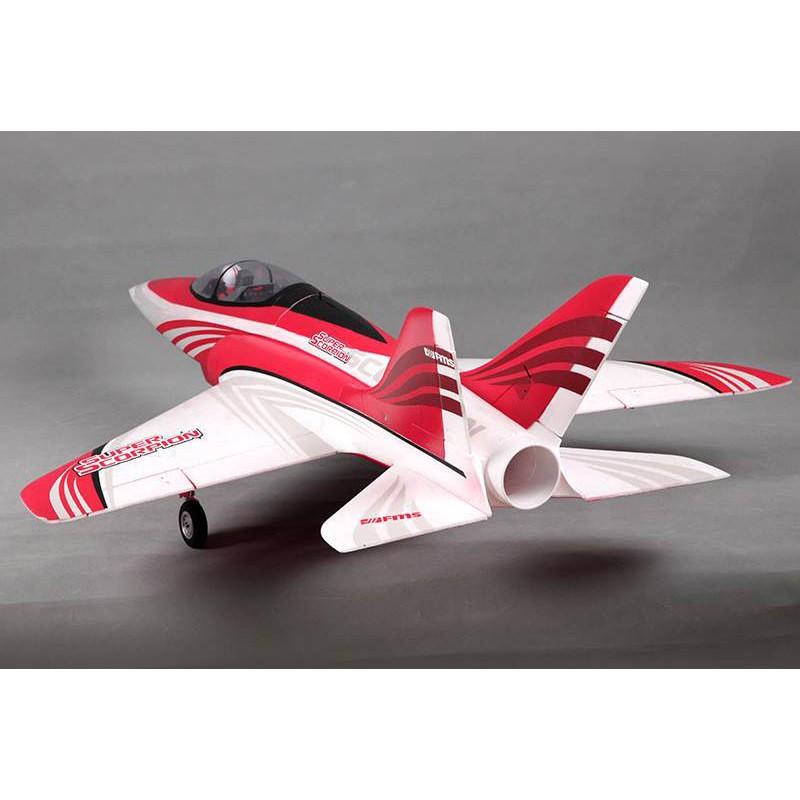 Jet 90mm EDF Super Scorpion Red PNP kit - Beez2B